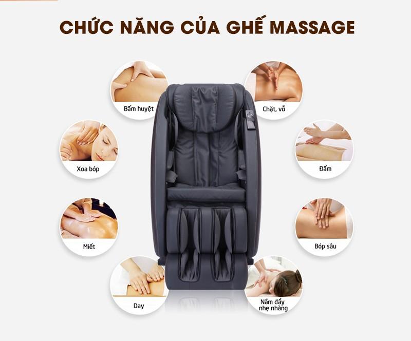Có nên mua ghế massage không? ghế massage toàn thân hãng nào tốt? - AmBeauty